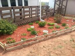 Simple Cheap Garden Ideas Wooden Garden Borders Simple And Cheap Garden Edging Ideas For