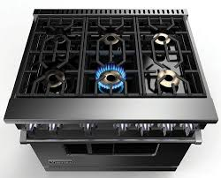 viking vgr73616b 36 inch gas range with 6 sealed burners 5 1 cu