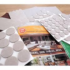 premium furniture pads set 104 pcs value pack heavy duty