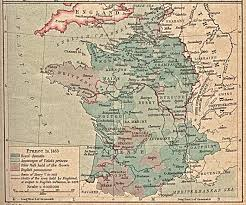 Road Map Of France by Whkmla Historical Atlas France Page