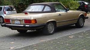 mercedes classic 2016 mercedes benz r107 560sl gold 1986 u2013 oldtimer youngtimer