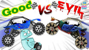 road buggy car war good vs evil scary street vehicles