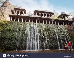 Nek Chand Rock Garden Waterfall At Rock Garden By Nek Chand Saini Rock Garden Of Stock