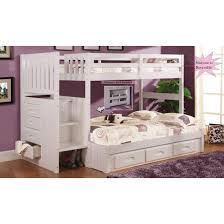 Discovery Bunk Bed Discovery World Furniture White Staircase Bunk Bed