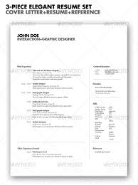 Resume Elegant Resume Templates by 20 Best Resume Templates Web U0026 Graphic Design Bashooka