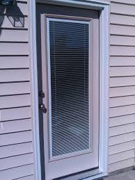 Glass Exterior Door Low E Glass View Exterior Door With Blinds In Between The Glass