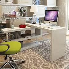 White High Gloss Office Desk Furnitureboxuk Siena White High Gloss Computer Pc Home Executive