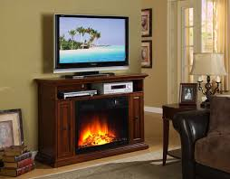 electric fireplace tv stand espresso new invention electric