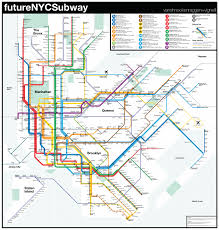 New York Rail Map by Futurenycsubway V4 U2013 Vanshnookenraggen