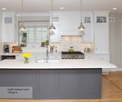 pics of kitchens with white cabinets and gray walls white inset cabinets gray kitchen island decora