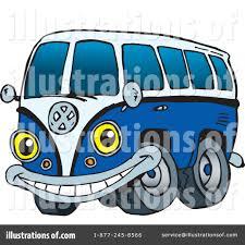 vw volkswagen van volkswagen van clipart 230219 illustration by dennis holmes designs
