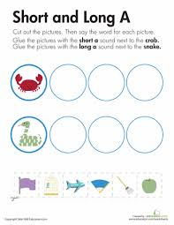 long worksheets phonics and word work