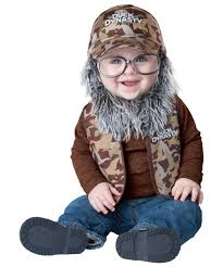 uncle si robertson of duck dynasty baby costume 8 to 2t kids