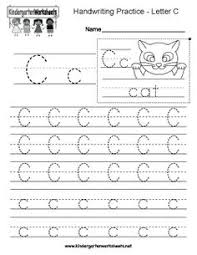 kindergarten letter a writing practice worksheet this series of