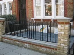 Garden Wall Railings by Brickwork Garden Gurus Landscape Gardening In South London Sw19