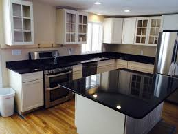 black granite countertops with white cabinets kitchen granitetops gallery islandtop ideas home depot rare granite