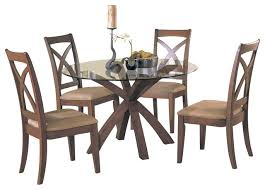 traditional round glass dining table cool traditional round glass dining table homelegance star hill