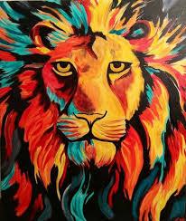 Paint Colorful - best 25 lion painting ideas on pinterest lion art lion drawing
