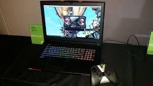 laptop gaming just got overclocked with nvidia u0027s desktop grade gtx