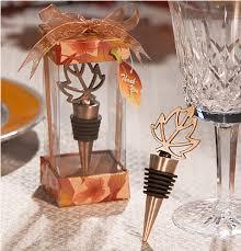 wine bottle wedding favors autumn themed wine bottle stopper leaf wine stoppers autumn