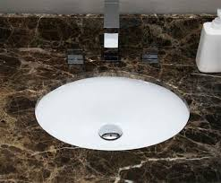16 5 in w csa oval undermount sink set in white brushed nickel