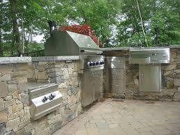 stone veneer on outdoor living projects old station landscape