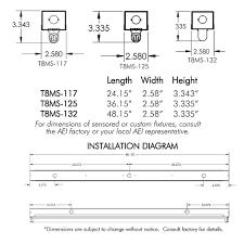 aei lighting t8 fluorescent industrial lighting fixtures aei
