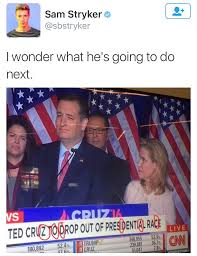 Ted Cruz Memes - hot takes on ted cruz dropping out of the race memebase funny memes