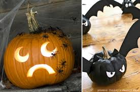 pumpkin decoration not spooky pumpkin decoration ideas at home with vallee