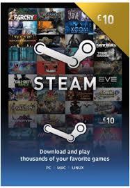 steam 10 gift card steam gift card 10 gbp
