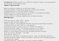Child Care Worker Sample Resume Job Description For Preschool Director Fred Resumes