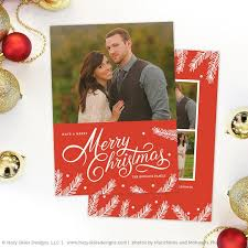 christmas card template photoshop calligraphy photography