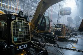 gold star for jcb as machines take a bow in cult film farm machinery