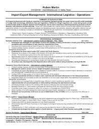 Resume Samples Logistics Manager by Resume For Supply Chain Executive Resume For Your Job Application