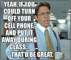 Get Off Your Phone Meme - lhs cell phone memes lhs photo journalism