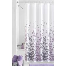 Fabric Shower Curtain With Window Mainstays Sylvia Fabric Shower Curtain Walmart