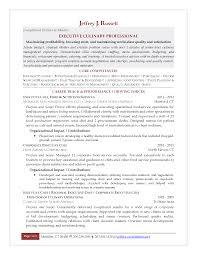 executive chef resume berathen com