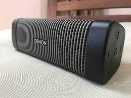 Modern Speaker by Previewed Denon Envaya Pocket Dsb50bt Travgear Com