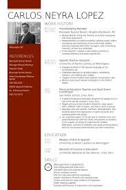 housekeeping supervisor cv sample housekeeping supervisor resume