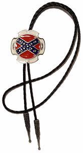 Confederate Flag Pin Flag Bolo Tie Code Btww55e