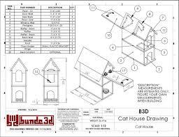 free building plans cat house building plans outdoor cat house plans myoutdoorplans