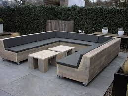 Best DIY Patio Furniture Images On Pinterest Outdoor - Wood patio furniture