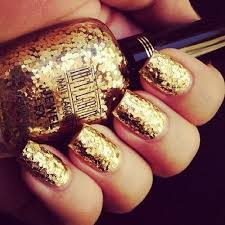 best 25 gold glitter nails ideas on pinterest pretty nails
