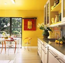 yellow black and white kitchen ideas square brown classic