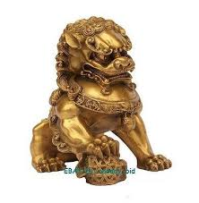 gold lion statues large brass small large pair bronze lion foo dog statue