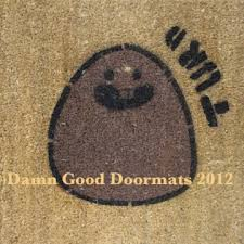 rude unwelcome mats damn good doormats