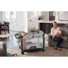 graco pack u0027n play quick connect portable bouncer with bassinet