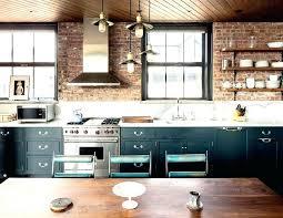 kitchens with brick walls brick kitchen bloomingcactus me
