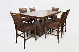 jofran cannon valley high low table and chair set great american