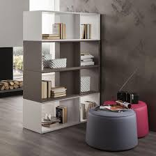 contemporary room dividers square black polished wood room divider with 16 cube rack open